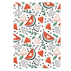 Seamless-vector-pattern-with-watermelons-mint Apple Ipad Pro 10 5   Black Uv Print Case