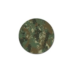 Camouflage-splatters-background Golf Ball Marker (10 Pack)