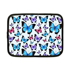 Decorative-festive-trendy-colorful-butterflies-seamless-pattern-vector-illustration Netbook Case (small)