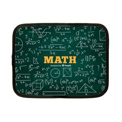 Realistic-math-chalkboard-background Netbook Case (small)