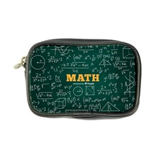 Realistic-math-chalkboard-background Coin Purse by Vaneshart