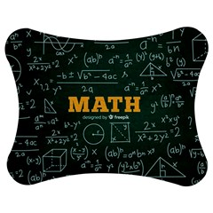 Realistic-math-chalkboard-background Jigsaw Puzzle Photo Stand (bow) by Vaneshart