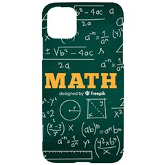 Realistic-math-chalkboard-background Iphone 11 Pro Max Black Uv Print Case