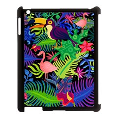 Tropical-exotic-colors-seamless-pattern Apple Ipad 3/4 Case (black)