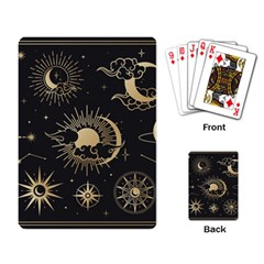 Asian-set-with-clouds-moon-sun-stars-vector-collection-oriental-chinese-japanese-korean-style Playing Cards Single Design (rectangle)