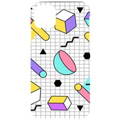 Tridimensional-pastel-shapes-background-memphis-style Iphone 11 Pro Max Black Uv Print Case