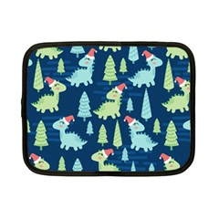 Cute-dinosaurs-animal-seamless-pattern-doodle-dino-winter-theme Netbook Case (small)