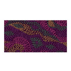 Colorful-abstract-seamless-pattern Satin Wrap