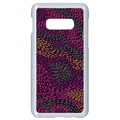 Colorful-abstract-seamless-pattern Samsung Galaxy S10e Seamless Case (white)