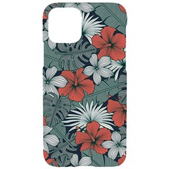 Seamless-floral-pattern-with-tropical-flowers Iphone 11 Pro Black Uv Print Case