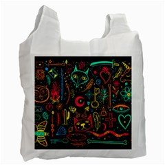 Sketch-graphic-illustration Recycle Bag (two Side)