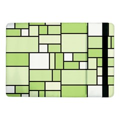 Green-geometric-digital-paper Samsung Galaxy Tab Pro 10 1  Flip Case by Vaneshart