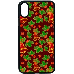 Illustration-christmas-default Iphone X Seamless Case (black)