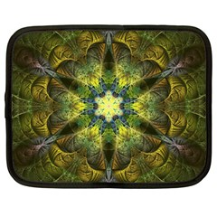 Fractal Fantasy Design Background Netbook Case (large)