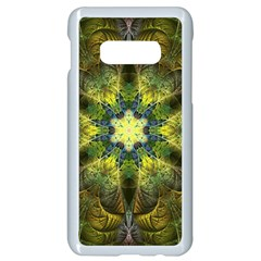 Fractal Fantasy Design Background Samsung Galaxy S10e Seamless Case (white)