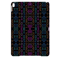 Neon Geometric Seamless Pattern Apple Ipad Pro 10 5   Black Uv Print Case