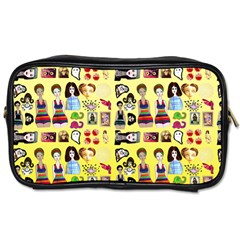 Kawaiicollagepattern3 Toiletries Bag (one Side) by snowwhitegirl