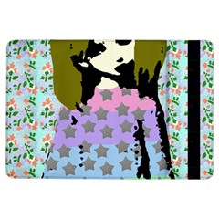 Girl With Star Striped Dress Ipad Air Flip