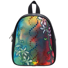 Flower Dna School Bag (small)