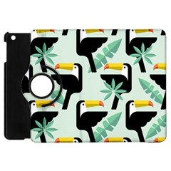Seamless Tropical Pattern With Birds Apple Ipad Mini Flip 360 Case by Bejoart