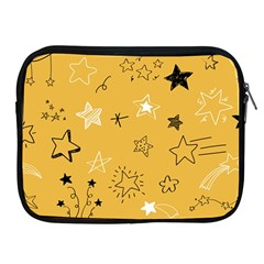 Various Stars Doodle Collection Vector Apple Ipad 2/3/4 Zipper Cases