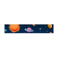 Background-template-with-bright-stars-dark-sky Flano Scarf (mini)