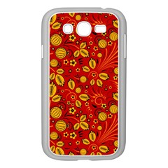 Seamless Pattern Slavic Folk Style Samsung Galaxy Grand Duos I9082 Case (white)