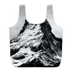 Matterhorn Switzerland Mountain Full Print Recycle Bag (l)