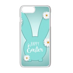 Easter Bunny Cutout Background 2402 Iphone 7 Plus Seamless Case (white) by catchydesignhill