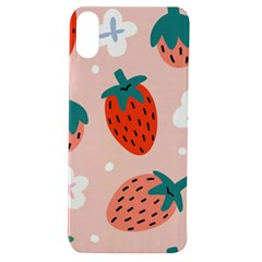 Strawberry Seamless Pattern Apple Iphone Xs Tpu Uv Case