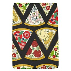 Vector Seamless Pattern With Italian Pizza Top View Removable Flap Cover (s)