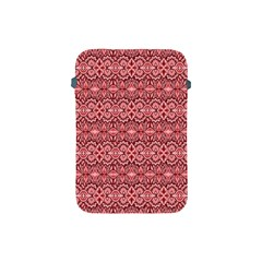Pink Art With Abstract Seamless Flaming Pattern Apple Ipad Mini Protective Soft Cases
