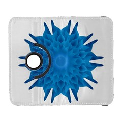 Blue Blend Flower Samsung Galaxy S  Iii Flip 360 Case by goljakoff