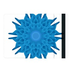 Blue Blend Flower Apple Ipad Pro 10 5   Flip Case