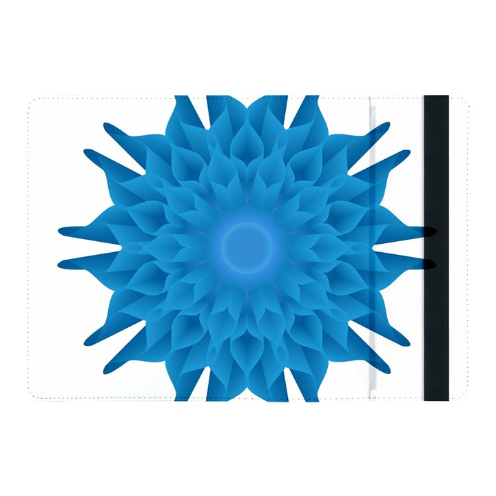 Blue Blend Flower Apple iPad Pro 10.5   Flip Case