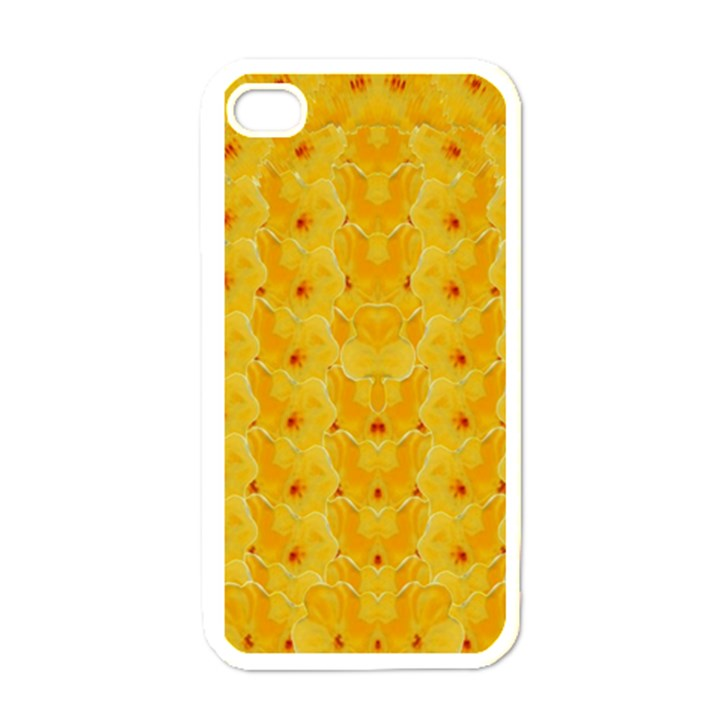 Blossoms  So Free In Freedom iPhone 4 Case (White)
