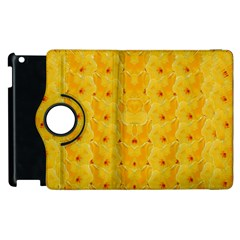 Blossoms  So Free In Freedom Apple iPad 3/4 Flip 360 Case