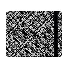 Linear Black And White Ethnic Print Samsung Galaxy Tab Pro 8 4  Flip Case