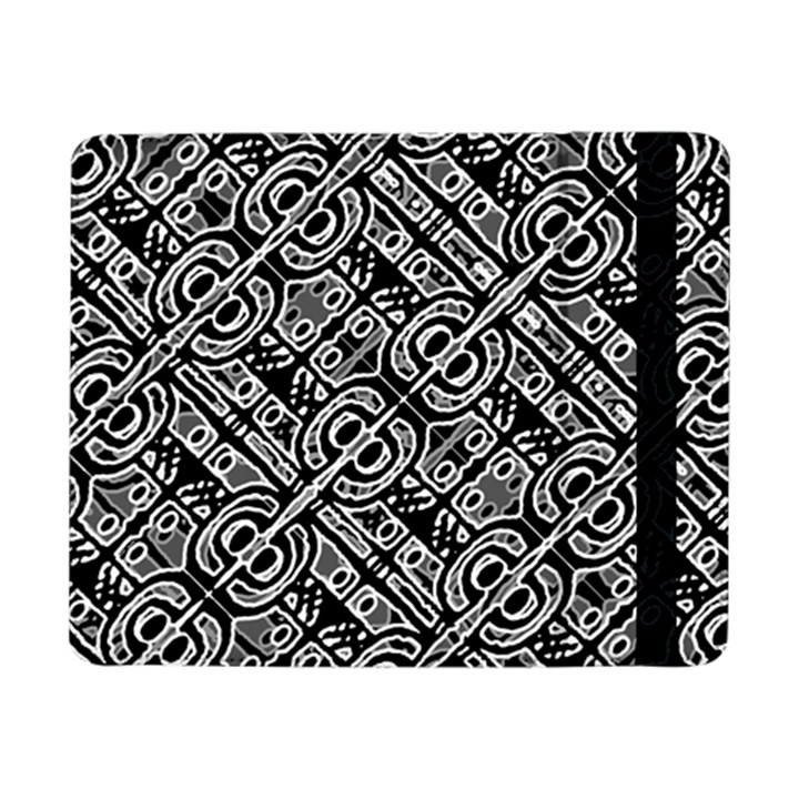 Linear Black And White Ethnic Print Samsung Galaxy Tab Pro 8.4  Flip Case