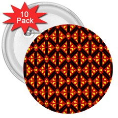 Rby-189 3  Buttons (10 pack)