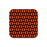 Rby-189 Rubber Square Coaster (4 pack)  Front