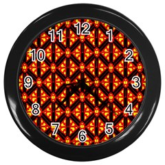 Rby-189 Wall Clock (Black)