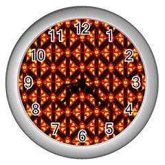 Rby-189 Wall Clock (Silver)