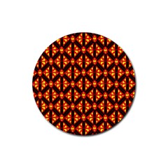 Rby-189 Rubber Round Coaster (4 pack)
