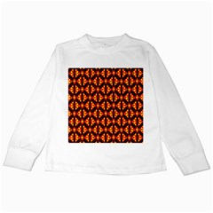 Rby-189 Kids Long Sleeve T-shirts by ArtworkByPatrick