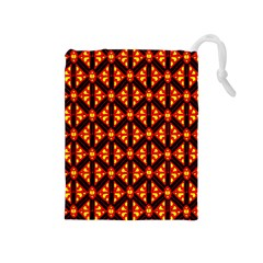 Rby-189 Drawstring Pouch (medium) by ArtworkByPatrick