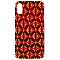 Rby-189 iPhone XR Black UV Print Case
