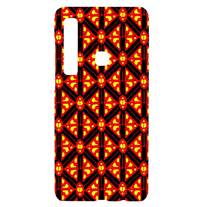 Rby-189 Samsung A9 Black UV Print Case