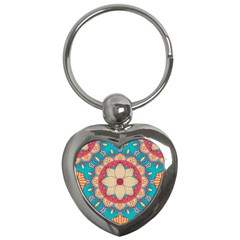 Mandala Key Chain (heart)