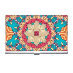 Mandala Business Card Holder